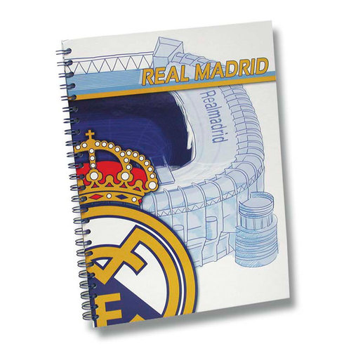 REAL MADRID CARPETA ESPIRAL