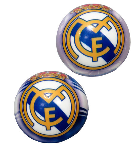 REAL MADRID PELOTA ANTIESTRES 63MM (24 UNID)