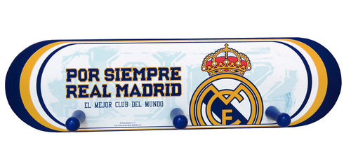 REAL MADRID PERCHERO MADERA C/3 COLGADORES