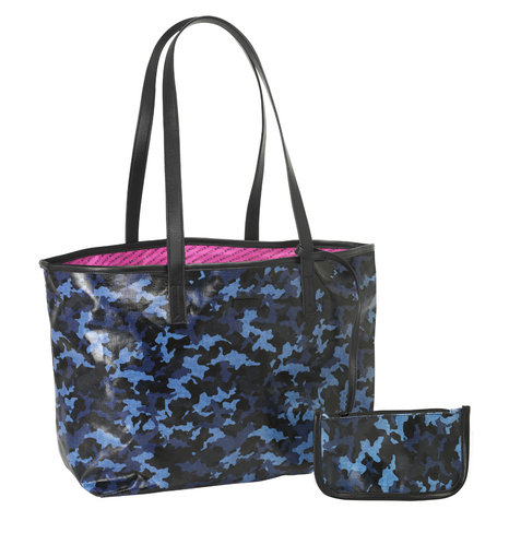 "MOOS BOLSO C/BILLETERA ""BLUE CAMO"""