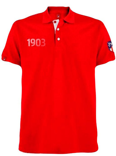 "ATLETICO MADRID POLO MANGA CORTA ""RED"""