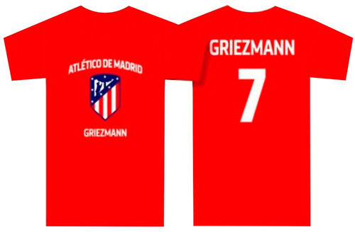 "ATLETICO MADRID CAMISETA TEAM ""GRIEZMANN"""