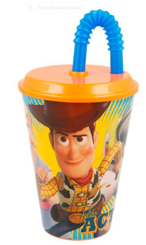 "TOY STORY VASO C/CAÑA 430ML ""TOY STORY 4"""