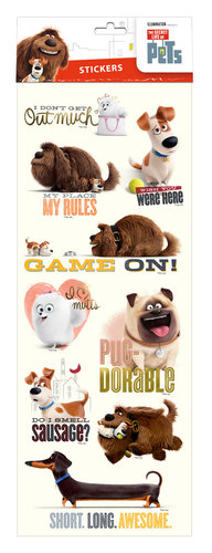 PETS STICKERS REMOVIBLE