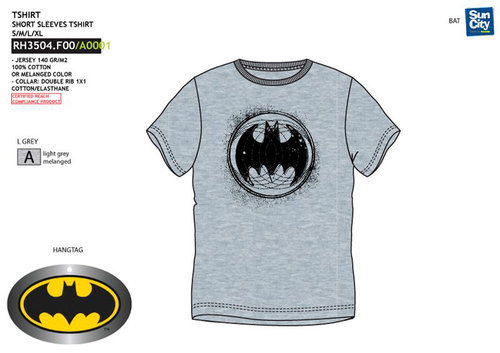 BATMAN CAMISETA ADULTO M/CORTA