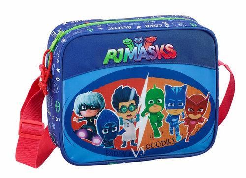 "PJ MASKS BANDOLERA GUARDERIA ""WORLD"""