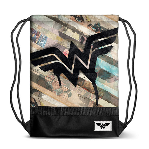 "WONDER WOMAN SACO STORM ""COLLAGE"""