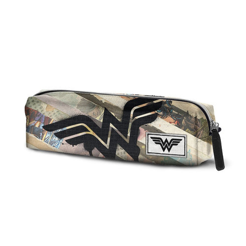 "WONDER WOMAN PORTATODO CUADRADO ""COLLAGE"""