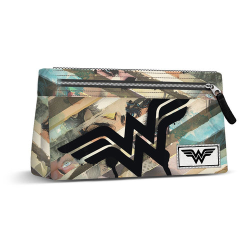 "WONDER WOMAN PORTATODO PLANO ""COLLAGE"""