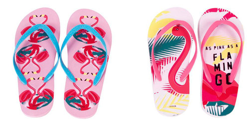 "FLAMENCOS CHANCLAS ""FLAMINGO"" TALLA 32 A 42"