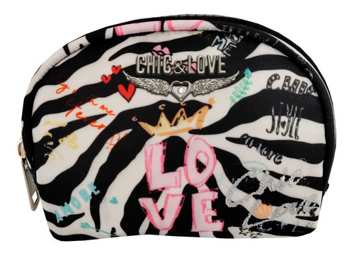 "CHIC & LOVE MONEDERO FASHION ""LOVE ZEBRA"""