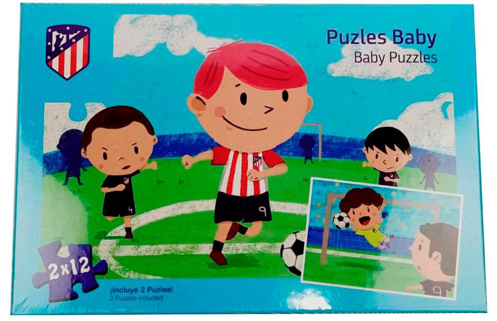 Atletico Madrid Baby Puzzle Mayal Bolsos Y Complementos