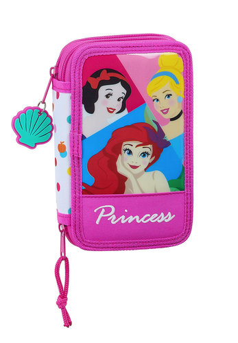 "PRINCESAS PLUMIER DOBLE 28 PIEZAS ""BE BRIGHT"""