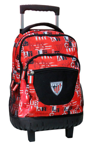 "ATHLETIC BILBAO MOCHILA C/TROLLEY 45CM COMPACT ""COLLECTION 18/19"""
