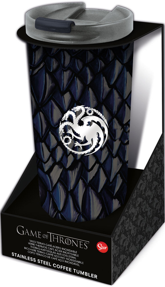 Game Of Thrones Insulated Stainless Steel Coffee Tumbler 425ml Yo 12 Unid Mayal Bolsos Y Complementos