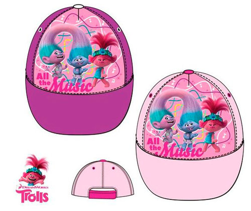 TROLLS 2 GORRA WORLD TOUR