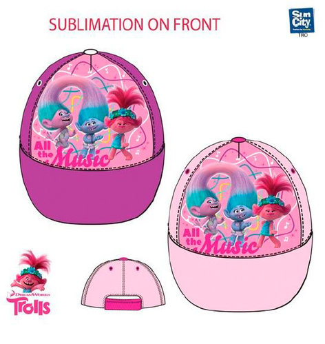 TROLLS GORRA WORLD TOUR