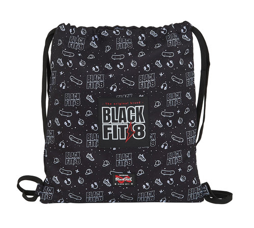 BLACKFIT8 SACO PLANO 40CM RECICLABLE SPORT GALAXY