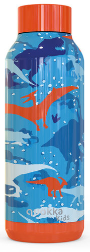 "QUOKKA BOTELLA ACERO INOXIDABLE SOLID KIDS ""DINOSAUR"" 510ML"