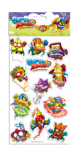 SUPERZINGS STICKERS RELIEVE