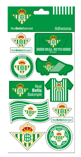 BETIS STICKERS REMOVIBLES