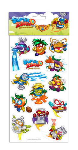 SUPERZINGS STICKERS REMOVIBLES