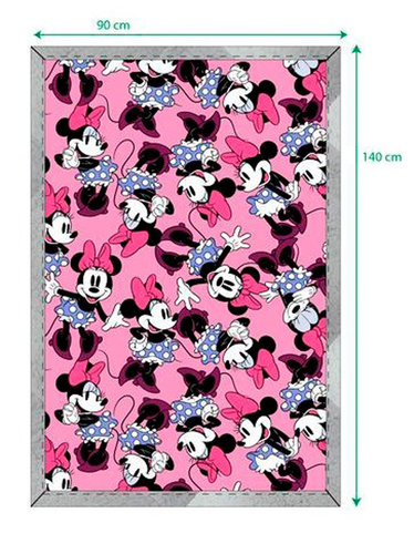 MINNIE MANTA SHERPA 90*140 DISNEY