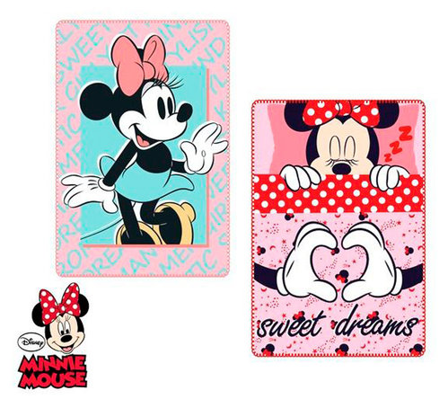 MINNIE MANTA POLAR 100*150 DISNEY